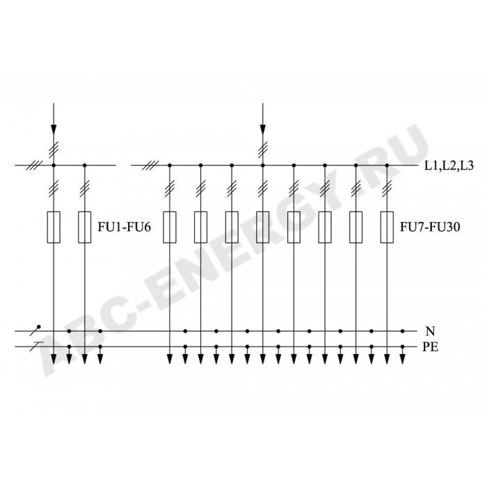 ВРУ1-45-02 УХЛ4 Вводно-распределительное устройство