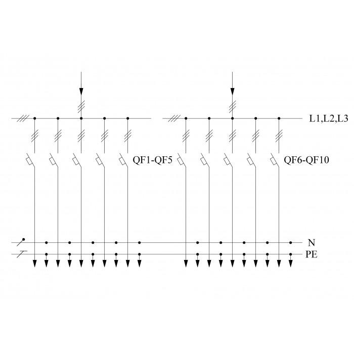 ВРУ1-48-03А УХЛ4 Вводно-распределительное устройство