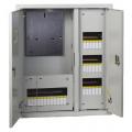 Щит учетно-распределительный навесной ЩРУН 3/30 2-х дверный с окном IP31 (580х490х165) EKF