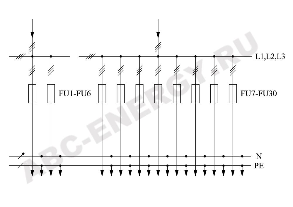 Схема электрическая ВРУ1-41-00, ВРУ1-41-00 цена, ВРУ1-41-00 купить