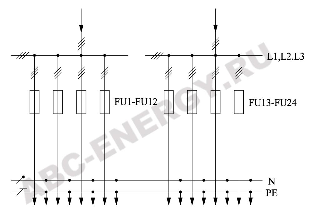 Схема электрическая ВРУ1-50-01, ВРУ1-50-01 цена, ВРУ1-50-01 купить